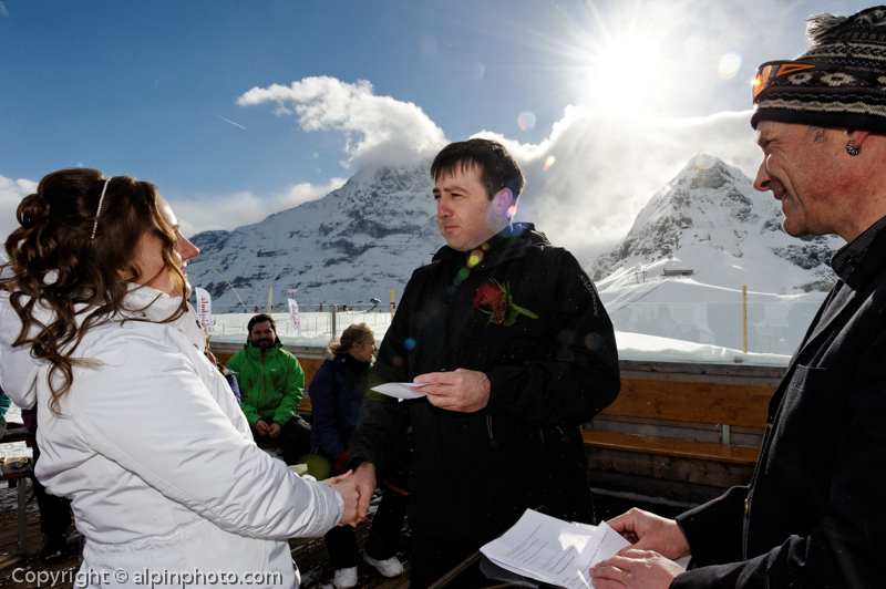 Ski Winter Wedding