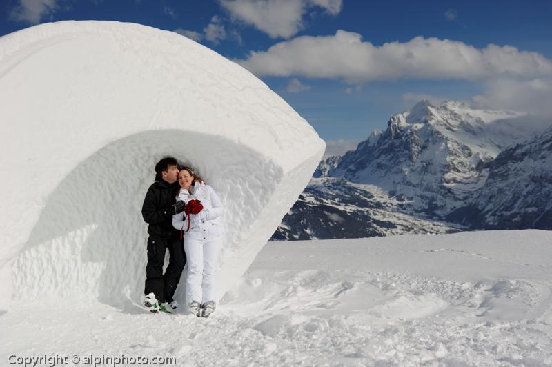 Winter Wedding Grindelwald 0252