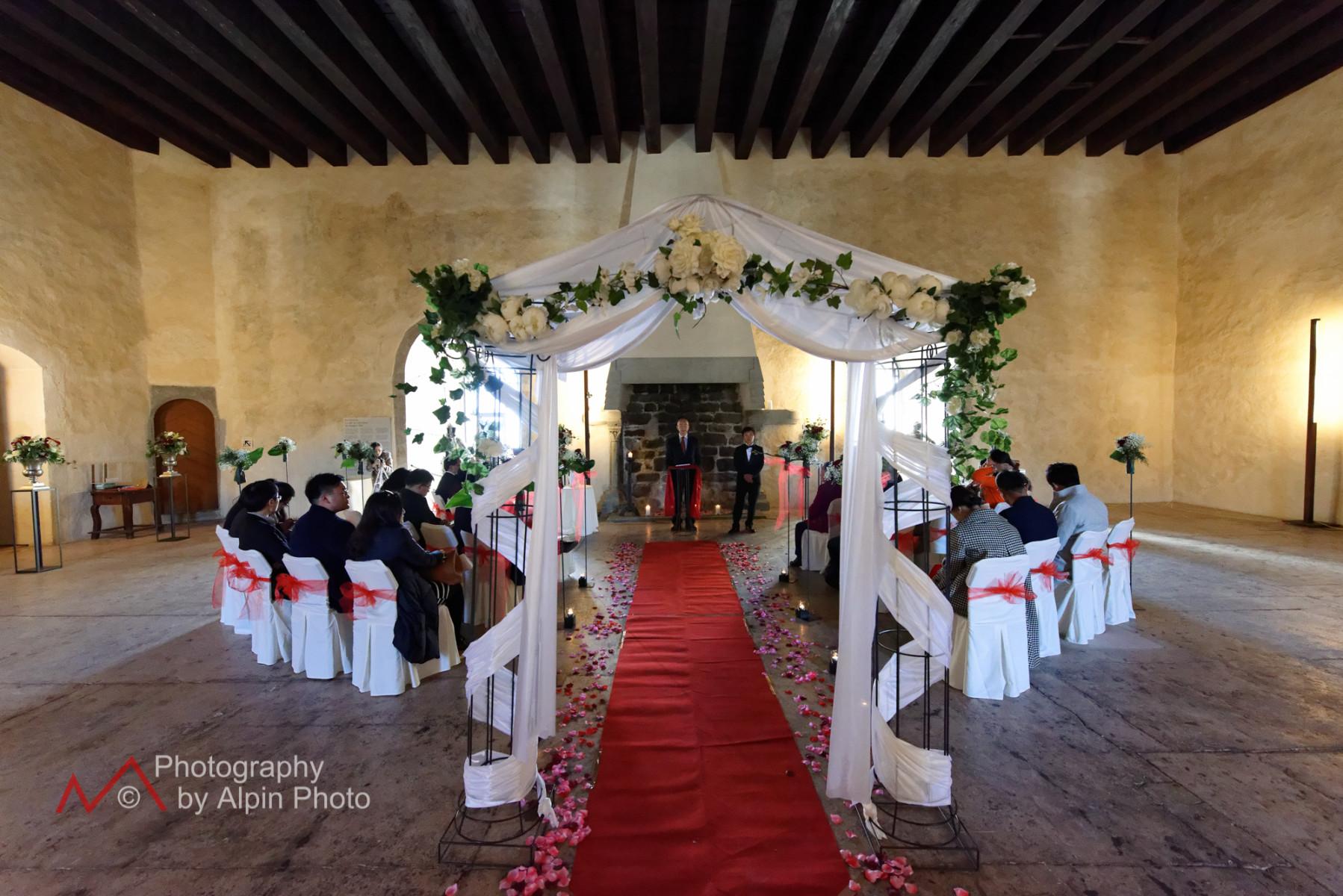 Asia Wedding Castle Switzerland