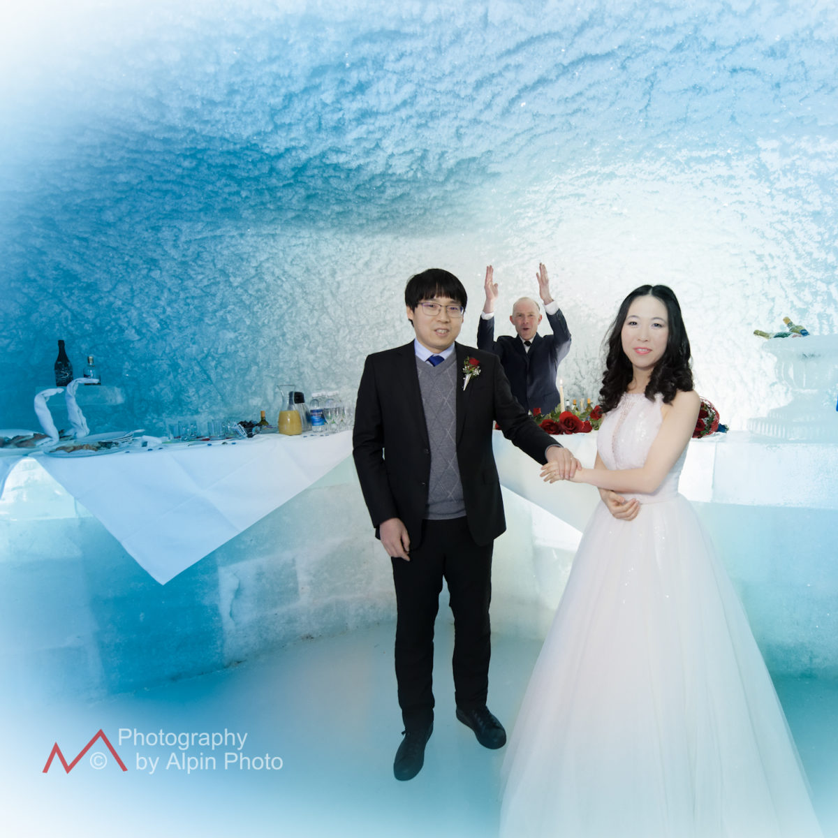 wedding at the Jungfraujoch