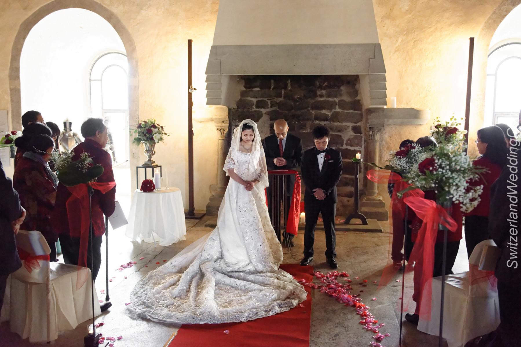 Castle Wedding ceremony