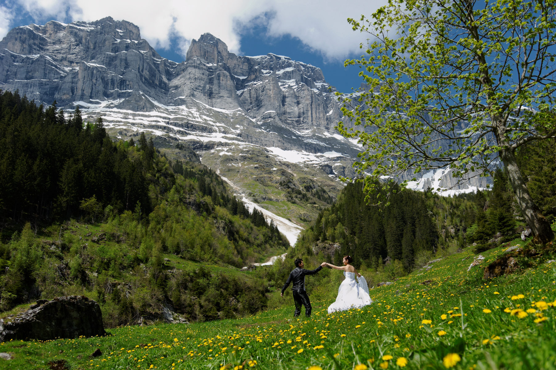 Switzerland Pre Wedding photos
