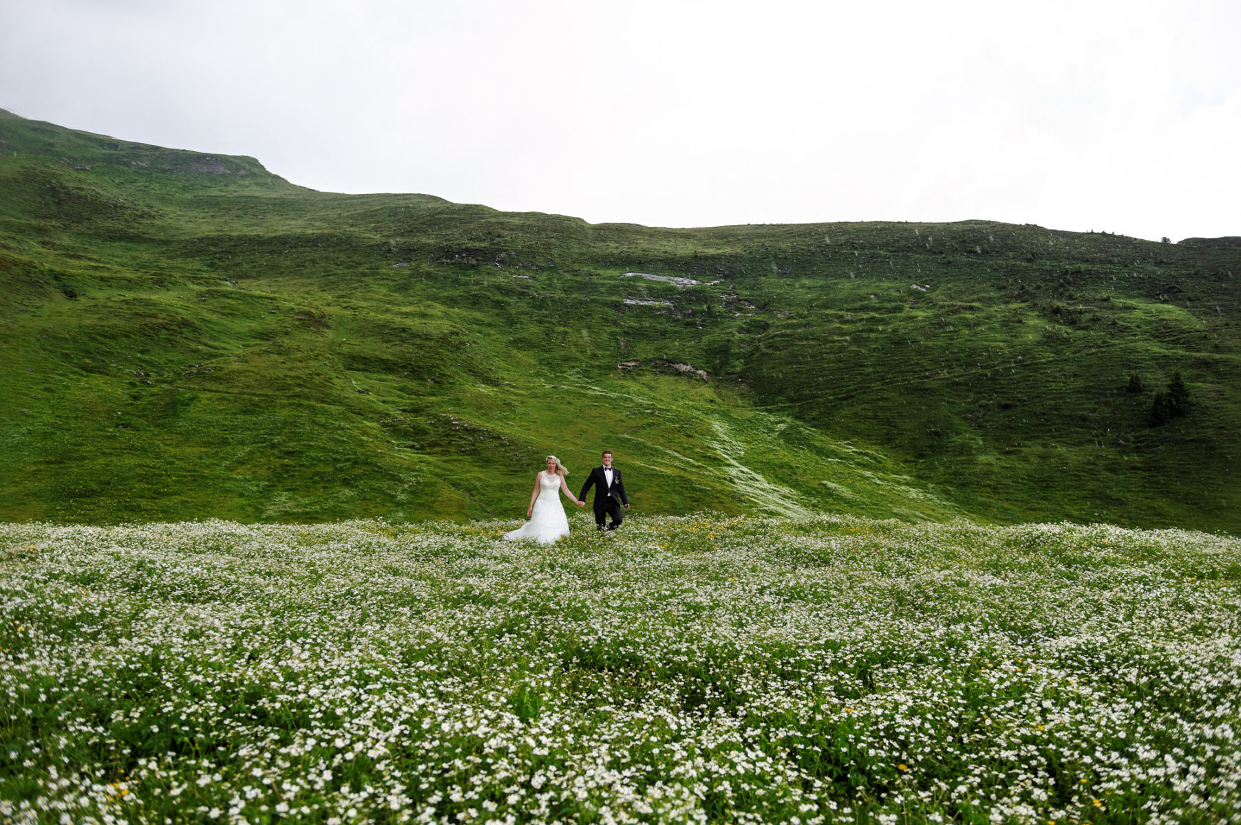 Wedding in Grindelwald