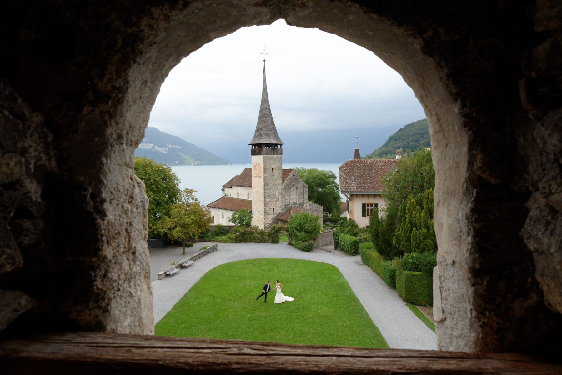 Castle Elopement Package Switzerland