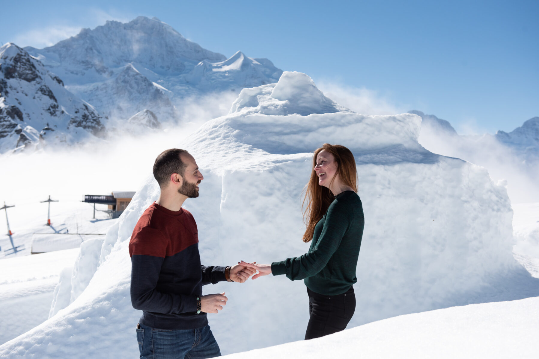 Marriage proposal Interlaken